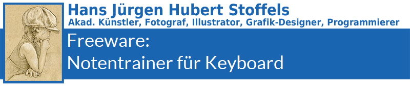 Freeware: Notentrainer für Keyboard